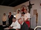 90. rocznica powstania PCK, poświęcenie sztandaru, nadanie odznaczeń. 15 listopada 2008 r.
